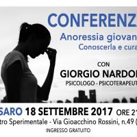 Conferenza con Giorgio Nardone: L'ANORESSIA GIOVANILE. CONOSCERLA E CURARLA